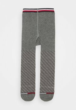 Tommy Hilfiger - BABY TIGHTS SMALL DOTTED STRIPE - Panty - middle grey melange