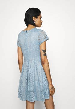 WAL G. - AVERI SKATER DRESS - Sukienka koktajlowa - dusty blue grey