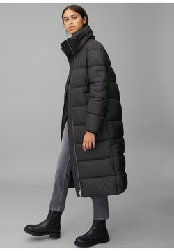 Marc O'Polo DENIM - LONG PUFFER COAT - Winterjacke - black