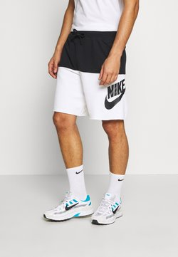 Nike Sportswear - ALUMNI - Shorts - black/white