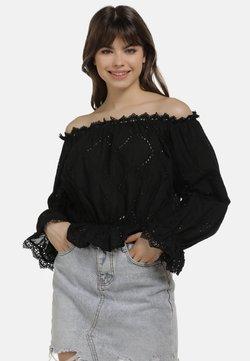 myMo - Bluzka - schwarz