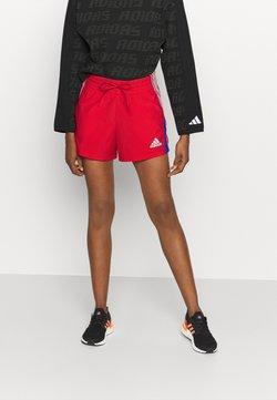 adidas Performance - SHORT - kurze Sporthose - scarlet