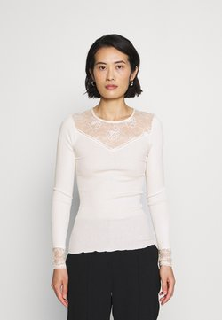 Rosemunde - T-shirt à manches longues - ivory