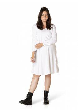 yesta - AMALIE - Korte jurk - weiss