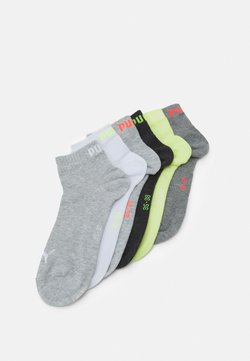 Puma - QUARTER PLAIN 6 PACK UNISEX - Sportsocken - white