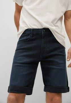 Mango - ROCK - Shorts di jeans - bleu foncé intense