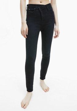 Calvin Klein Jeans - Jeansy Skinny Fit - denim black