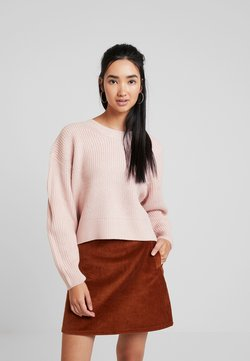 New Look - FASHIONING JUMPER - Strickpullover - nude