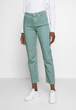 Marc O'Polo - HIGH WAIST CROPPED LENGTH - Jeans a sigaretta - misty spearmint