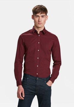 WE Fashion - SLIM FIT STRETCH - Hemd - burgundy red