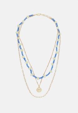 Pieces - PCJADA COMBI NECKLACE - Necklace - gold-coloured