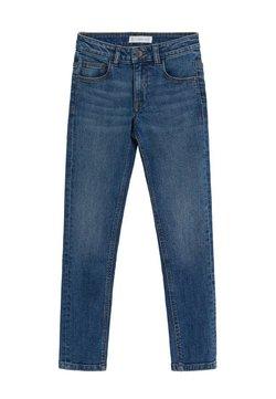 Mango - SLIM - Slim fit jeans - blu medio