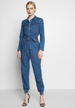 ONLY - ONLSISSY BOILER BELT SUIT - Haalari - medium blue denim