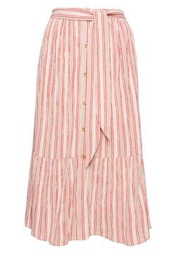 Superdry - A-Linien-Rock - pink stripe