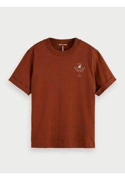 Scotch & Soda - T-Shirt print - sienna