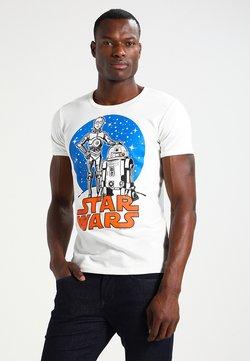 LOGOSHIRT - STAR WARS - DROIDS - T-Shirt print - almost white