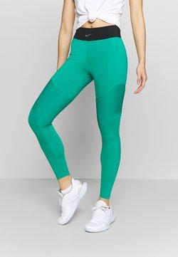 Nike Performance - AEROADAPT - Tights - neptune green/black/metallic silver