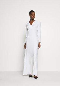 Lauren Ralph Lauren - CLASSIC GOWN - Robe de cocktail - lauren white