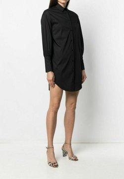 LIU JO - Vestido camisero - black