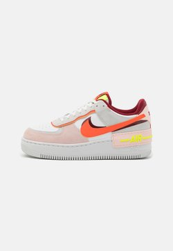 Nike Sportswear - AIR FORCE 1 SHADOW - Sneaker low - team red/orange/orange pearl/volt
