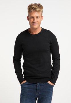 Mo - Stickad tröja - schwarz