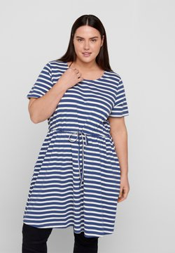 Zizzi - Tunika - twilight blue/stripe