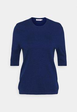Filippa K - CLAIRE ELBOW SLEEVE - T-shirts basic - marine blu