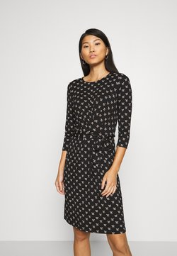 King Louie - HAILEY DRESS WILLOW - Freizeitkleid - black