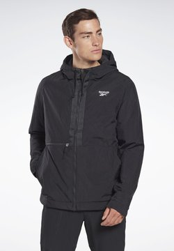 Reebok - OUTERWEAR CORE JACKET - Windbreaker - black