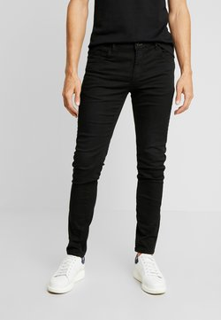 Springfield - Slim fit jeans - black