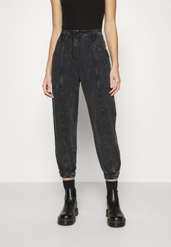 Soft Rebels - EMMA ANKLE PANT - Relaxed fit jeans - black