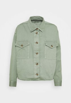 American Eagle - CORE MILITARY SHACKET - Bluse - olive