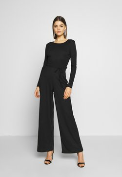 Missguided - LONG SLEEVED BELTED - Combinaison - black