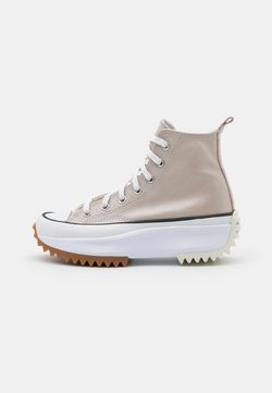 Converse - RUN STAR HIKE - Baskets montantes - egret/white/black