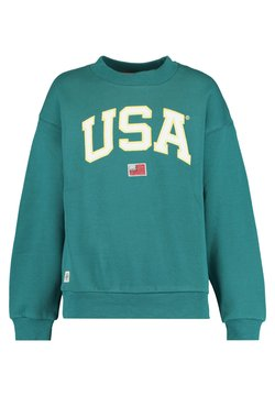 America Today - SILVIE - Sweater - sea green