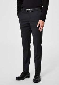 Selected Homme - Puvunhousut - black