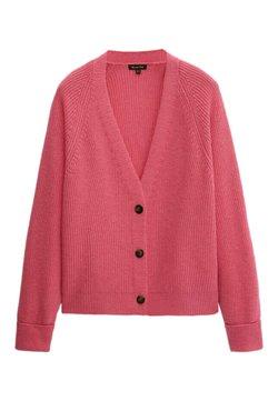 Massimo Dutti - Strikjakke /Cardigans - neon pink
