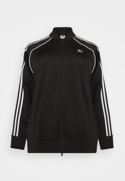 adidas Originals - TRACKTOP - Giubbotto Bomber - black/white
