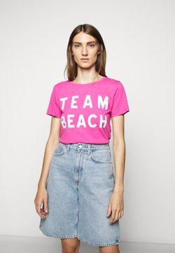J.CREW - TEAM BEACH TEE - T-Shirt print - vibrant fuchsia