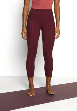 Cotton On Body - POCKET 7/8 - Tights - mulberry