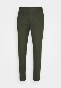 Scotch & Soda - MOTT CLASSIC IN BRUSHED YARN DYED QUALITY - Chinot - military