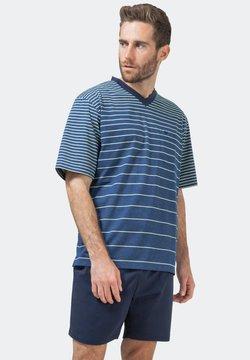hajo Polo & Sportswear - Nachtwäsche Shirt - blau-meliert