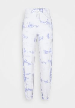 New Look - TIE DYE  - Jogginghose - light blue