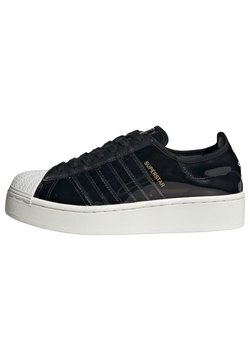 adidas Originals - SUPERSTAR BOLD - Sneakers laag - black