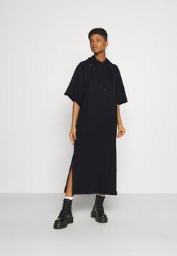 G-Star - LONG HOODED DRESS - Maxikleid - dark black