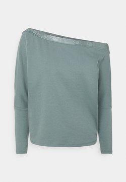 River Island Petite - Camiseta de manga larga - petrol