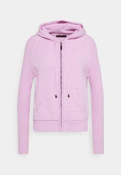 Marks & Spencer London - RP RIB HOODY - Sweter - lilac