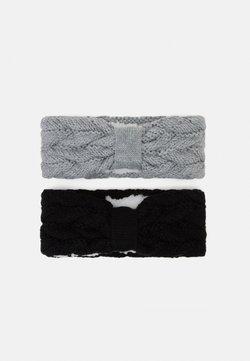 Anna Field - 2 PACK - Oorwarmers - grey/black