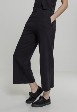 Urban Classics - LADIES CULOTTE - Jogginghose - black