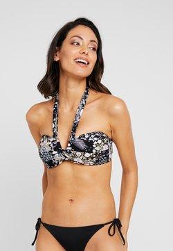 Seafolly - BANDEAU - Bikini-Top - black